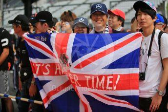 World © Octane Photographic Ltd. Formula 1 – Japanese GP - Paddock. Scuderia Fans in the Pitlane. Suzuka Circuit, Suzuka, Japan. Thursday 10th October 2019.
