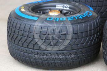 World © Octane Photographic Ltd. Formula 1 – Japanese GP - Paddock. Pirelli full wet tyre. Suzuka Circuit, Suzuka, Japan. Thursday 10th October 2019.