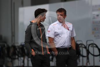 World © Octane Photographic Ltd. Formula 1 – Japanese GP - Paddock. McLaren MCL34 – Lando Norris. Suzuka Circuit, Suzuka, Japan. Thursday 10th October 2019.