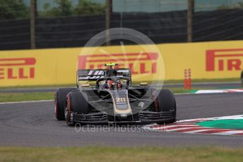 World © Octane Photographic Ltd. Formula 1 – Japanese GP - Practice 1. Haas F1 Team VF19 – Kevin Magnussen. Suzuka Circuit, Suzuka, Japan. Friday 11th October 2019.