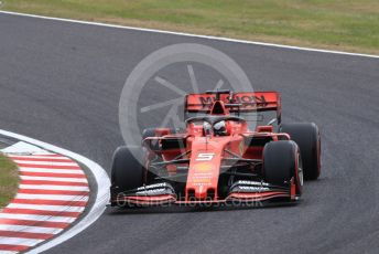 World © Octane Photographic Ltd. Formula 1 – Japanese GP - Practice 1. Scuderia Ferrari SF90 – Sebastian Vettel. Suzuka Circuit, Suzuka, Japan. Friday 11th October 2019.