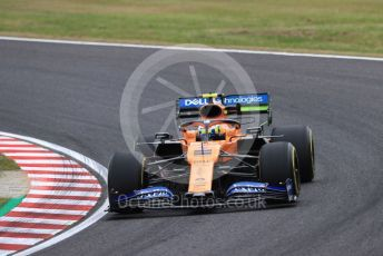 World © Octane Photographic Ltd. Formula 1 – Japanese GP - Practice 1. McLaren MCL34 – Lando Norris. Suzuka Circuit, Suzuka, Japan. Friday 11th October 2019.