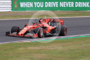 World © Octane Photographic Ltd. Formula 1 – Japanese GP - Practice 1. Scuderia Ferrari SF90 – Charles Leclerc. Suzuka Circuit, Suzuka, Japan. Friday 11th October 2019.