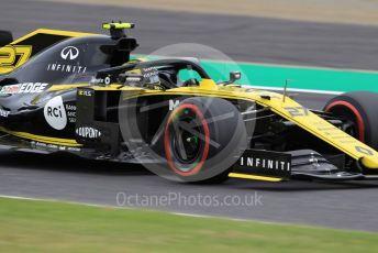 World © Octane Photographic Ltd. Formula 1 – Japanese GP - Practice 2. Renault Sport F1 Team RS19 – Nico Hulkenberg. Suzuka Circuit, Suzuka, Japan. Friday 11th October 2019.