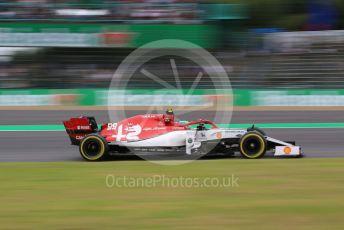World © Octane Photographic Ltd. Formula 1 – Japanese GP - Practice 2. Alfa Romeo Racing C38 – Antonio Giovinazzi. Suzuka Circuit, Suzuka, Japan. Friday 11th October 2019.
