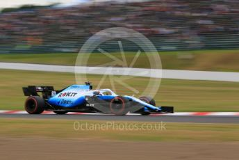 World © Octane Photographic Ltd. Formula 1 – Japanese GP - Practice 2. ROKiT Williams Racing FW 42 – George Russell. Suzuka Circuit, Suzuka, Japan. Friday 11th October 2019.