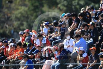 World © Octane Photographic Ltd. Formula 1 – Japanese GP - Qualifying. Fans in the grandstands. Suzuka Circuit, Suzuka, Japan. Sunday 13th October 2019.