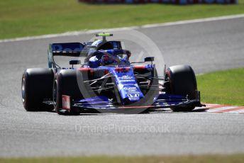 World © Octane Photographic Ltd. Formula 1 – Japanese GP - Qualifying. Scuderia Toro Rosso - Pierre Gasly. Suzuka Circuit, Suzuka, Japan. Sunday 13th October 2019.