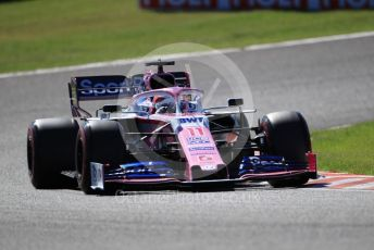World © Octane Photographic Ltd. Formula 1 – Japanese GP - Qualifying. SportPesa Racing Point RP19 - Sergio Perez. Suzuka Circuit, Suzuka, Japan. Sunday 13th October 2019.