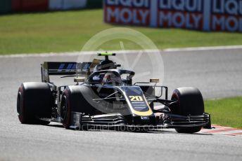 World © Octane Photographic Ltd. Formula 1 – Japanese GP - Qualifying. Haas F1 Team VF19 – Kevin Magnussen. Suzuka Circuit, Suzuka, Japan. Sunday 13th October 2019.