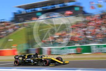 World © Octane Photographic Ltd. Formula 1 – Japanese GP - Qualifying. Renault Sport F1 Team RS19 – Daniel Ricciardo. Suzuka Circuit, Suzuka, Japan. Sunday 13th October 2019.