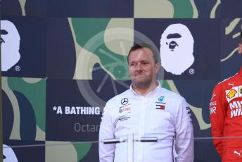 World © Octane Photographic Ltd. Formula 1 – Japanese GP - Podium. Mercedes AMG Petronas Motorsport AMG F1 W10 EQ Power+ Chief Aerodynamicist. Suzuka Circuit, Suzuka, Japan. Sunday 13th October 2019.