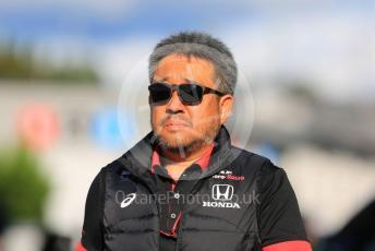 World © Octane Photographic Ltd. Formula 1 - Singapore GP - Paddock. Masashi Yamamoto - General Manager of Honda's motorsport division. Suzuka Circuit, Suzuka, Japan. Sunday 13th October 2019.
