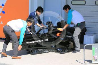 World © Octane Photographic Ltd. Formula 1 – Japanese GP - Paddock. FIA Institute show chassis. Suzuka Circuit, Suzuka, Japan. Sunday 13th October 2019.