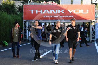 World © Octane Photographic Ltd. Formula 1 – Japanese GP - Paddock. Haas F1 Team VF19 – Kevin Magnussen. Suzuka Circuit, Suzuka, Japan. Sunday 13th October 2019.