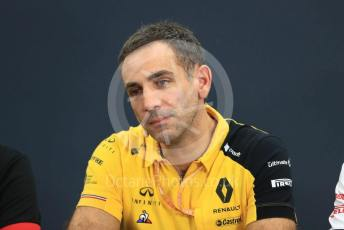 World © Octane Photographic Ltd. Formula 1 - Hungarian GP – Friday FIA Team Press Conference. Cyril Abiteboul - Managing Director of Renault Sport Racing Formula 1 Team. Suzuka Circuit, Suzuka, Japan. Friday 11th October 2019.