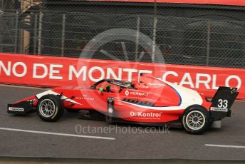 World © Octane Photographic Ltd. Formula Renault Eurocup – Monaco GP - Practice. Arden - Sebastian Fernandez. Monte-Carlo, Monaco. Thursday 23rd May 2019.