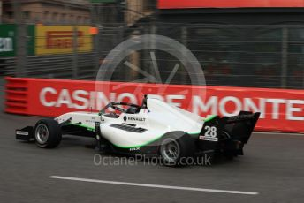 World © Octane Photographic Ltd. Formula Renault Eurocup – Monaco GP - Practice. JD Motorsport - Joao Vieira. Monte-Carlo, Monaco. Thursday 23rd May 2019.