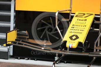 World © Octane Photographic Ltd. Formula 1 – Monaco GP. Setup. Renault Sport F1 Team RS19 – Nico Hulkenberg. Monte-Carlo, Monaco. Wednesday 22nd May 2019.