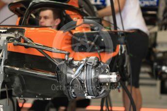 World © Octane Photographic Ltd. Formula 1 – Monaco GP. Setup. McLaren MCL34. Monte-Carlo, Monaco. Wednesday 22nd May 2019.