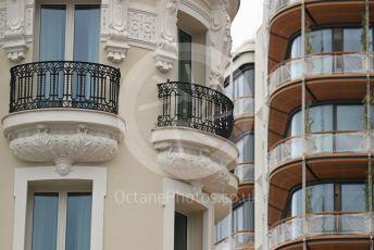 World © Octane Photographic Ltd. Formula 1 – Monaco GP. Hotel de Paris/Atmosphere. Monte-Carlo, Monaco. Wednesday 22nd May 2019.