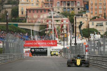 World © Octane Photographic Ltd. Formula 1 – Monaco GP. Practice 1. Renault Sport F1 Team RS19 – Daniel Ricciardo. Monte-Carlo, Monaco. Thursday 23rd May 2019.