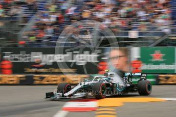 World © Octane Photographic Ltd. Formula 1 – Monaco GP. Practice 1. Mercedes AMG Petronas Motorsport AMG F1 W10 EQ Power+ - Valtteri Bottas. Monte-Carlo, Monaco. Thursday 23rd May 2019.