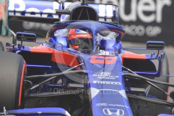 World © Octane Photographic Ltd. Formula 1 – Monaco GP. Practice 2. Scuderia Toro Rosso STR14 – Daniil Kvyat. Monte-Carlo, Monaco. Thursday 23rd May 2019.