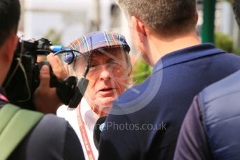 World © Octane Photographic Ltd. Formula 1 – Monaco GP. Practice 2. Sir Jackie Stewart. Monte-Carlo, Monaco. Thursday 23rd May 2019.