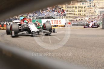 World © Octane Photographic Ltd. Formula 1 – Monaco GP. Practice 3. Alfa Romeo Racing C38 – Antonio Giovinazzi. Monte-Carlo, Monaco. Saturday 25th May 2019.