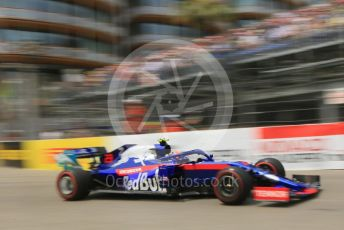 World © Octane Photographic Ltd. Formula 1 – Monaco GP. Practice 3. Scuderia Toro Rosso STR14 – Alexander Albon. Monte-Carlo, Monaco. Saturday 25th May 2019.