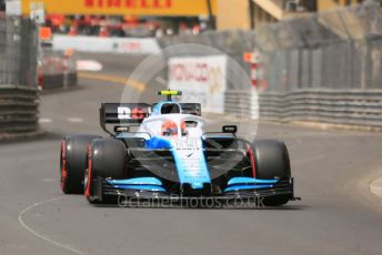 World © Octane Photographic Ltd. Formula 1 – Monaco GP. Practice 3. ROKiT Williams Racing FW42 – Robert Kubica. Monte-Carlo, Monaco. Saturday 25th May 2019.