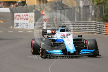 World © Octane Photographic Ltd. Formula 1 – Monaco GP. Practice 3. ROKiT Williams Racing FW 42 – George Russell. Monte-Carlo, Monaco. Saturday 25th May 2019.