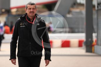 World © Octane Photographic Ltd. Formula 1 - Monaco GP. Practice 3. Guenther Steiner - Team Principal of Rich Energy Haas F1 Team. Monte-Carlo, Monaco. Saturday 25th May 2019.