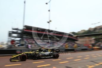 World © Octane Photographic Ltd. Formula 1 – Monaco GP. Practice 3. Renault Sport F1 Team RS19 – Nico Hulkenberg. Monte-Carlo, Monaco. Saturday 25th May 2019.