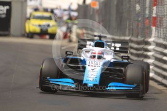 World © Octane Photographic Ltd. Formula 1 – Monaco GP. Qualifying. ROKiT Williams Racing FW 42 – George Russell. Monte-Carlo, Monaco. Saturday 25th May 2019.