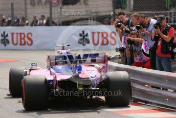 World © Octane Photographic Ltd. Formula 1 – Monaco GP. Qualifying. SportPesa Racing Point RP19 – Lance Stroll. Monte-Carlo, Monaco. Saturday 25th May 2019.