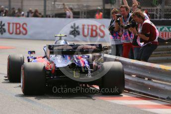 World © Octane Photographic Ltd. Formula 1 – Monaco GP. Qualifying. Scuderia Toro Rosso STR14 – Alexander Albon. Monte-Carlo, Monaco. Saturday 25th May 2019.