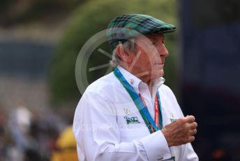 World © Octane Photographic Ltd. Formula 1 – Monaco GP. Qualifying. Sir Jackie Stewart. Monte-Carlo, Monaco. Saturday 25th May 2019.