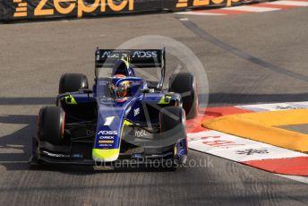World © Octane Photographic Ltd. FIA Formula 2 (F2) – Monaco GP - Practice. Carlin - Louis Deletraz. Monte-Carlo, Monaco. Thursday 23rd May 2019