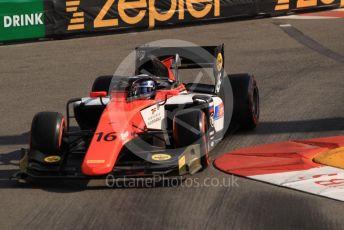 World © Octane Photographic Ltd. FIA Formula 2 (F2) – Monaco GP - Practice. MP Motorsport – Artem Markelov. Monte-Carlo, Monaco. Thursday 23rd May 2019.