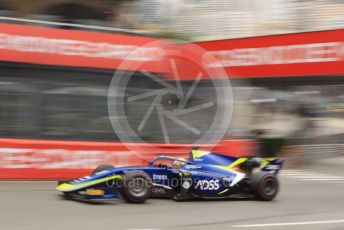 World © Octane Photographic Ltd. FIA Formula 2 (F2) – Monaco GP - Qualifying. Carlin - Louis Deletraz. Monte-Carlo, Monaco. Thursday 23rd May 2019