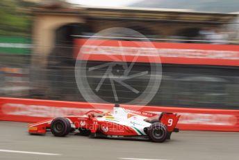 World © Octane Photographic Ltd. FIA Formula 2 (F2) – Monaco GP - Qualifying. Prema Racing – Mick Schumacher. Monte-Carlo, Monaco. Thursday 23rd May 2019.