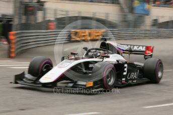 World © Octane Photographic Ltd. FIA Formula 2 (F2) – Monaco GP - Qualifying. ART Grand Prix - Nikita Mazepin. Monte-Carlo, Monaco. Thursday 23rd May 2019.