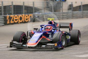 World © Octane Photographic Ltd. FIA Formula 2 (F2) – Monaco GP - Qualifying. Carlin - Nobuharu Matsushita. Monte-Carlo, Monaco. Thursday 23rd May 2019.