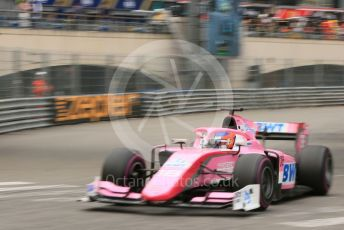 World © Octane Photographic Ltd. FIA Formula 2 (F2) – Monaco GP - Qualifying. BWT Arden - Tatiana Calderon. Monte-Carlo, Monaco. Thursday 23rd May 2019.