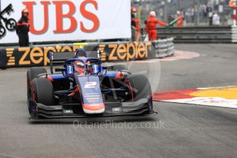 World © Octane Photographic Ltd. FIA Formula 2 (F2) – Monaco GP - Race 1. Carlin - Nobuharu Matsushita. Monte-Carlo, Monaco. Friday 24th May 2019.