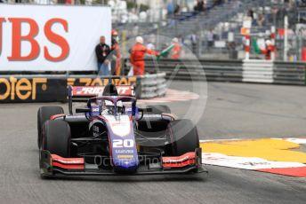World © Octane Photographic Ltd. FIA Formula 2 (F2) – Monaco GP - Race 1. Trident - Giuliano Alesi. Monte-Carlo, Monaco. Friday 24th May 2019.