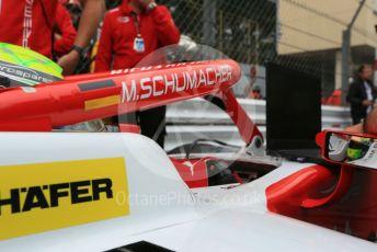 World © Octane Photographic Ltd. FIA Formula 2 (F2) – Monaco GP - Race 1. Prema Racing – Mick Schumacher. Monte-Carlo, Monaco. Friday 24th May 2019.