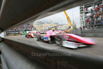 World © Octane Photographic Ltd. FIA Formula 2 (F2) – Monaco GP - Race 1. BWT Arden - Anthoine Hubert. Monte-Carlo, Monaco. Friday 24th May 2019.